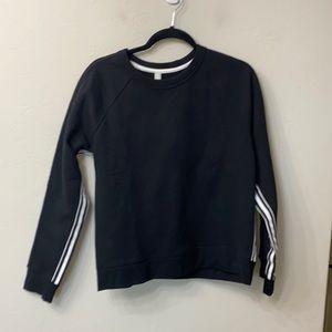 Athleta black sweatshirt size medium
